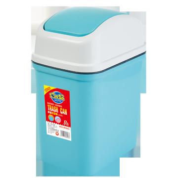 8321 flap-lid plastic trash can