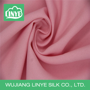 new design 80D high twist pink fabric for women dress
