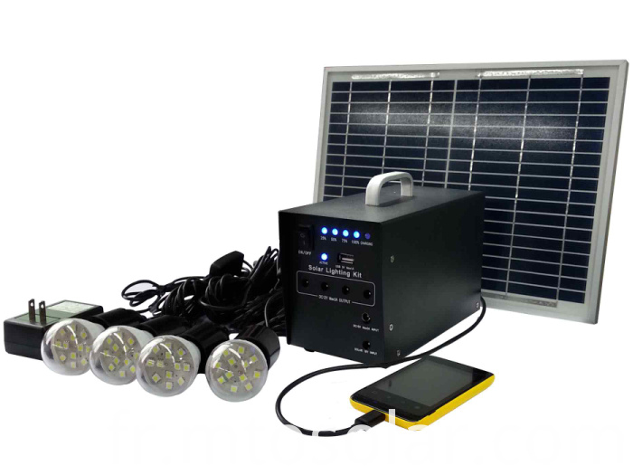 Fabricants de syst me solaire 10w portable chine for Panneau solaire plug and play