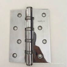 Sheet metal fabrication straight hole chromed polishing iron door hinge
