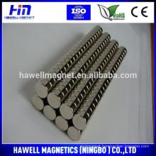 Sintered NdFeB Disc/Round Magnet N35 N38 N40