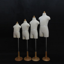 flexible children manneuqins half body kids mannequins jewellery display mannequins