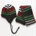 Custom Glove Scarf Knitting Hat Set Wholesale