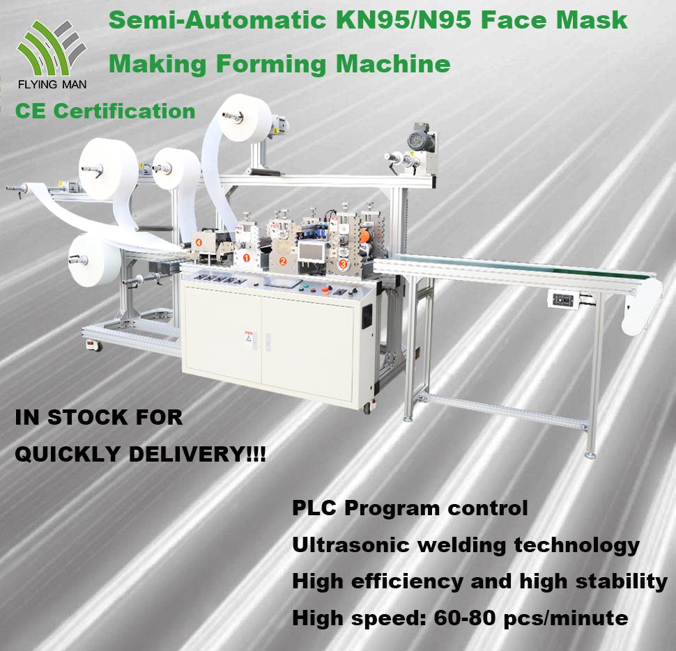 Flying Man Kn95 Mask Forming Making Machine