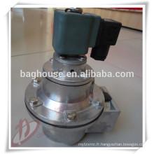 Valve d'impulsion à angle droit Fabricant de vannes en acier inoxydable
