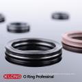 Anneau Quad Standard Noir As568 pour Cylindre Hydraulique