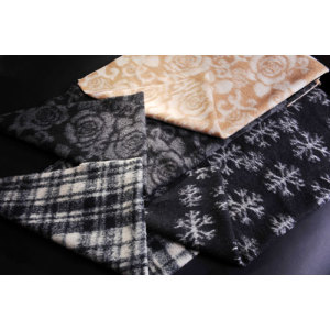 High Quality Jacquard Knitted Woolen Fabric