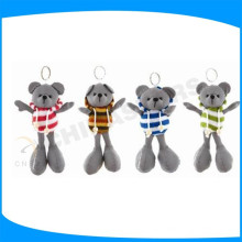 Reflective hang piece or stuffed bear toys for gift
