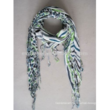 Viscose Printing Square Neck Scarf Supplier