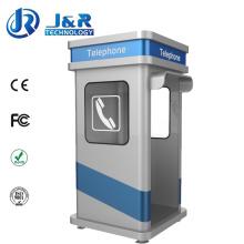 Wetterfeste Telefonzelle, Roadside Rugged Kiosk, Akustiktelefonhaube