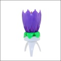 India Rotate Flower Musica Candle