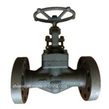 Válvula de globo de extremo de brida de acero forjado de alta resistencia 1500lb A105