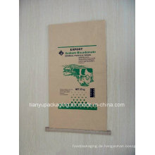 Seam Bottom Kraftpapier Tasche für chemische Dünger, Zement