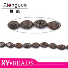 Figure de Agate bijoux pierres Semi précieuses perles 10x16mm