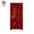 O tipo novo do estilo aceitou os projetos de madeira da porta da rua do OEM do aço
