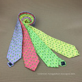 100% Handmade Dry Clean Only Screen Printed Silk Neck Tie