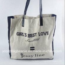 Пользовательские Хлопок плеча Non Woven Рекламные Покупки сумка Холст сумка Tote
