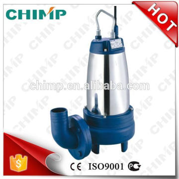 "CHIMP NEW Productos WQ (D) K SERIES 2 ""outlet 1.5HP con Impulsor de corte Bombas de aguas residuales sumergibles eléctricas"