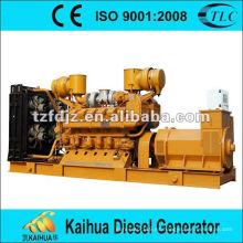 Sistema de generador diesel de JICHAI 1000kva / 800kv de refrigeración por agua