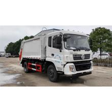 Novo caminhão de lixo com compressão quadrada 12