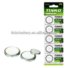 CR2032 button cell battery with good quality