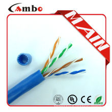 Cat6a cambo para 23 awg 4 pares de cobre nu fabricado na China