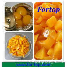 Fresh Sweet Canned Yellow Peach in Syrup