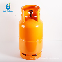 2019 Good Quality Cooking 2kg Steel LPG Gas Cylinder Bottle with Factory Price