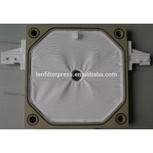 Leo Filter Press Placa de filtro de máquina de filtro de placa de cámara pequeña