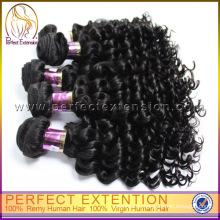 5а 100% девственница перуанский странный Baby Curl человеческих волос