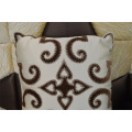 Embroidery Decorative Cushion Fashion Velvet Pillow (EDM0290)
