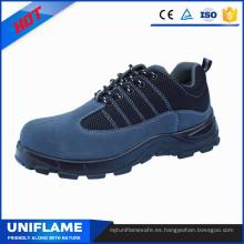 Calzado ligero de seguridad con puntera de acero, calzado de trabajo para hombres Ufa103