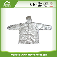 Gray Cycling Wear Polyester Outdoor Jacket