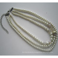 Daking 3 Rows Fashion Costume Necklace for Women