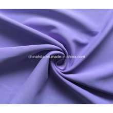 Dull Polyester Spandex Plain Comfortable Sportswear Fabric (HD1202261)