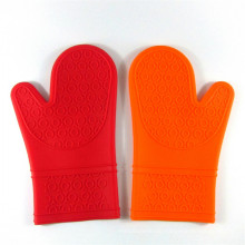 Perfect Heat Resistant Softtextile Silicon Kitchen Cooking Glove BBQ Gloves