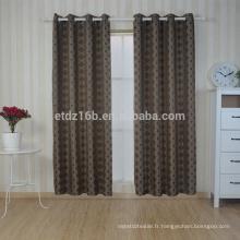 Nouveau rideau à broder en 100% polyester