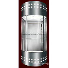 Elevador panorâmico com a cabine de vidro para Sightseeing (JQ-A051)