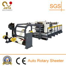Machine rotatoire de feuille de cannelure rotatoire à grande vitesse