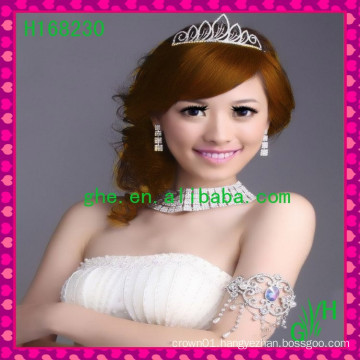 Hot Selling Girls Jewelry Tiara With Pendant