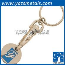 Münzenhalter Schlüsselanhänger mit Link Karabinerhaken