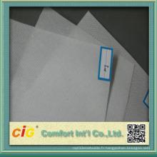 High-quality Colorful PP Spunbonded Non-tissé pour tapisserie d'ameublement