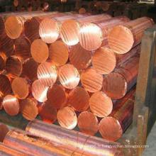Barre CuCrZr en alliage de cuivre utilisée dans le soudage pour capsules et embouts d'électrodes