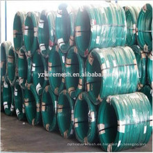 PVC revestido / alambre de enlace del alambre (realmente fábrica)