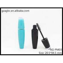 Encantadora & vazio rímel especial-dado forma plástico tubo AG-PM03, embalagens de cosméticos do AGPM, cores/logotipo personalizado
