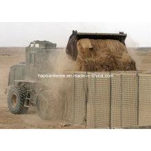 Военный бастион, наводнение, Хеско-барьер