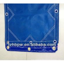 Lista de lonas de PVC azul