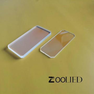 Fused Silica or Sapphire Laser Protective Windows
