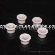 Oeillets en céramique d'alumine rose à 99%