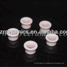Ilhós cerâmicos da alumina cor-de-rosa de 99%